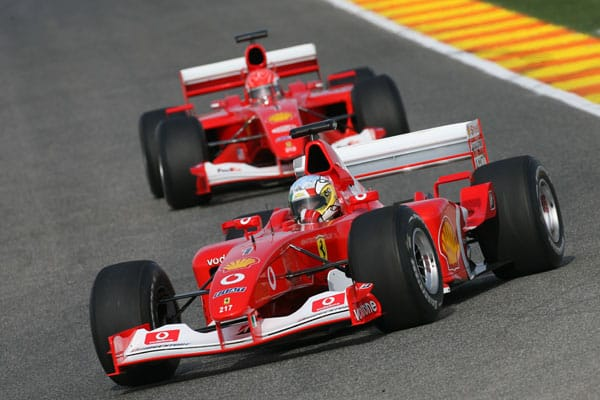 F1 Clienti - Photo Courtesy of Ferrari