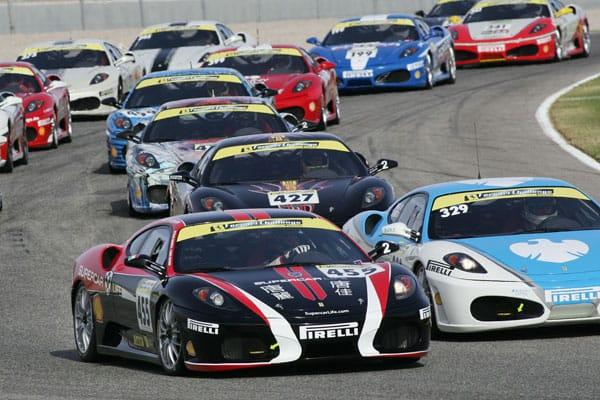 Scott Tucker - Photo Courtesy of Ferrari