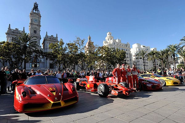 Photo courtesy of Ferrari