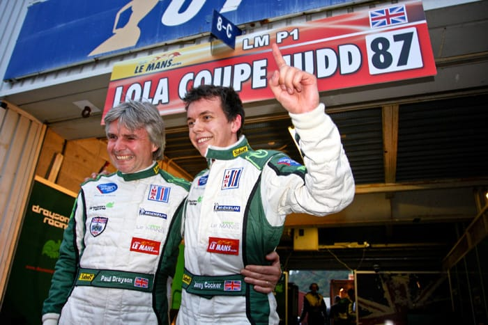 Paul Drayson and Jonny Cocker celebrate in Japan
