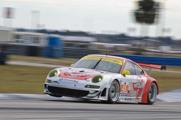 Sebring ALMS Winter Test Day 1