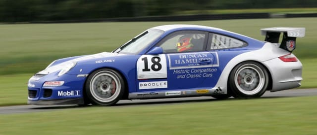Archie Hamilton on track at Croft