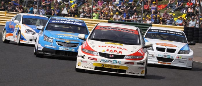 The Touring car field at Croft - Photo credit: SJK Photography