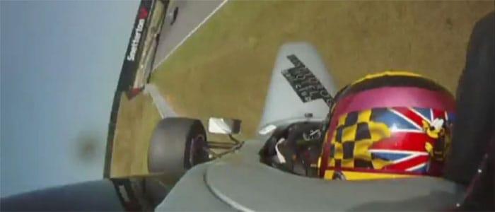 FPA Jordan Williams gets airborne at Snetterton