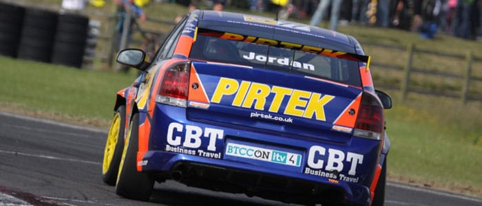 Andrew Jordan on course to his maiden BTCC win - Photo credit: SJK Photography