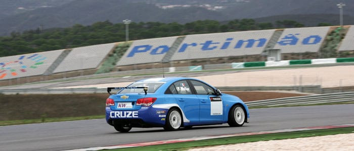 Yvan Muller testing at Portimão - Photo credit: fiawtcc.com