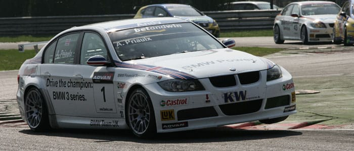 Andy Priaulx at the opening rounds of the 2006 championship - Photo credit: fiawtcc.com