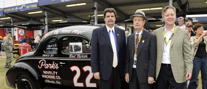 Raymond Parks 1914-2010 Photo credit: Rusty Jarrett/Getty Images for NASCAR