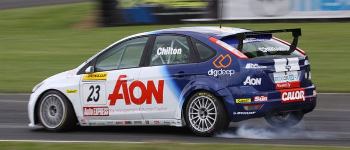 Tom Chilton during qualifying at Croft - Photo Credit: SJK Photography
