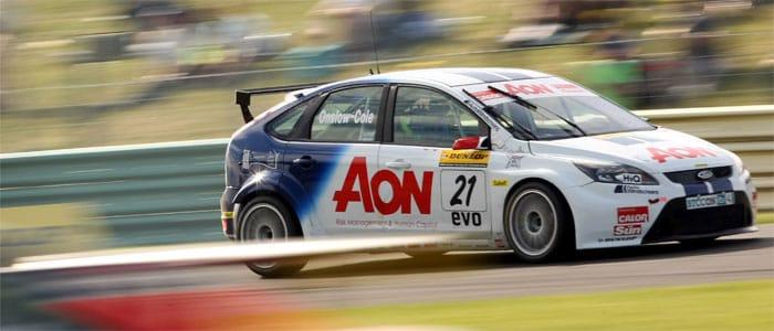 Tom Onslow-Cole, 2010, Ford Focus, Croft race 3 - Photo credit: BTCC.net