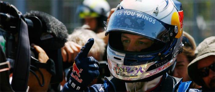 Sebastian Vettel - Photo credit: Red Bull