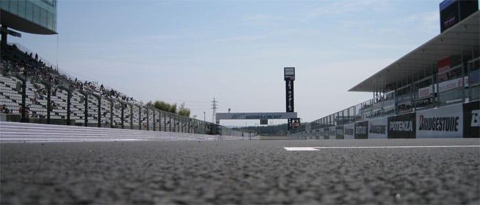 Start/Finish straight at Suzuka