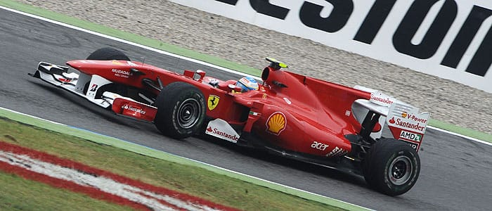 Fernando Alonso took his second victory of 2010 at Hockenheim