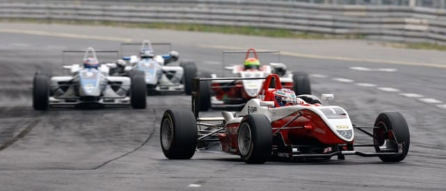 Valttei Bottas leads the field - Photo Credit: Euro F3 Media