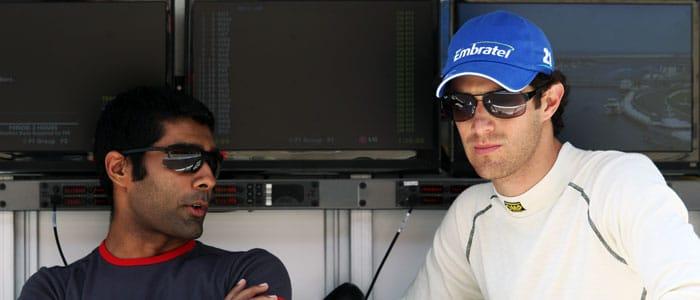 Karun Chandhok and Bruno Senna