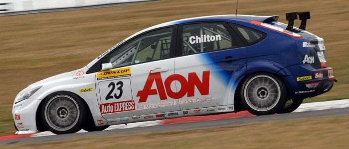 Tom Chilton was on pace at Snetterton - Photo credit: Chris Gurton