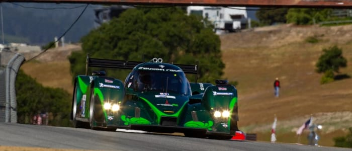 Drayson Racing at Laguna Seca - Photo credit: Regis Lefebure
