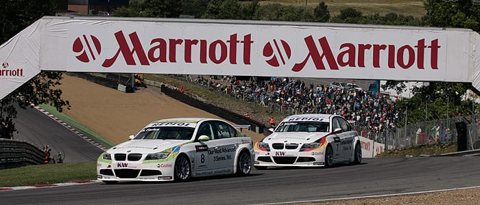 Augusto Farfus at Brands Hatch in 2009