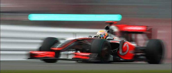 Leiws Hamilton - Silverstone 2008