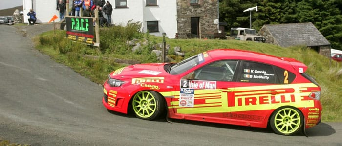 Keith Cronin - Manx Rally  - Photo credit: Jakob Ebrey Photography