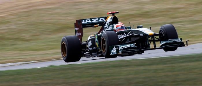 Lotus British Grand Prix Qualifying