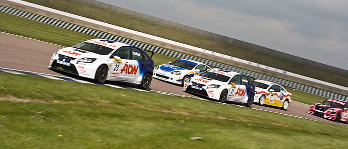 British Touring Car Championship in action - Photo credit: Vince Pettit Photography