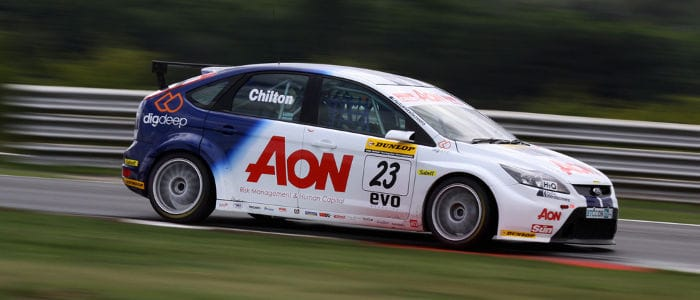 Tom Chilton on his way to third place - Photo credit: SJK Photography