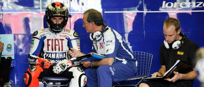 Lorenzo in the Pits