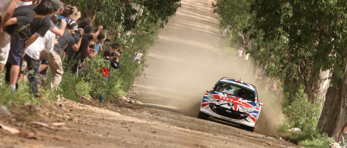 Kris Meeke in action - Photo credit: Peugeot Media