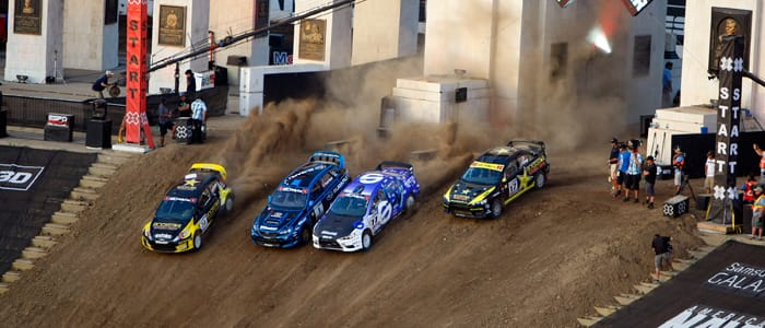 X Games 16 Super Rally start - Photo Credit: Eric Lars Bakke/Shazamm/ESPN Ima