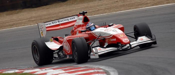 Chris van der Drift on track at Brands Hatch - Photo credit: Chris Gurton Photography