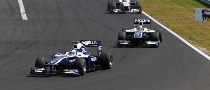 Williams at Hungary