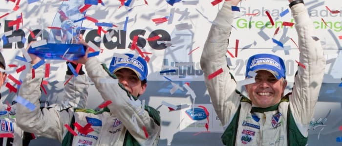 Cocker and Drayson celebrate their win - Photo Credit: Regis Lefebure