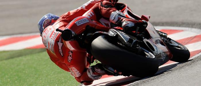 Ducati on track