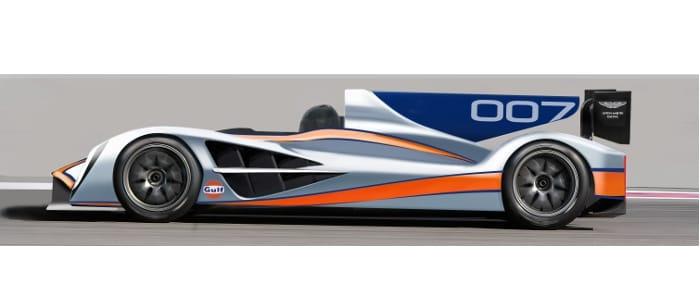 Aston Martin's new LMP1 car - Picture Credit: Aston Martin