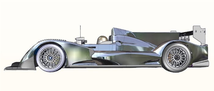 ORECA's new chassis for the 2011 LMP2 class - Photo Credit: Groupe ORECA