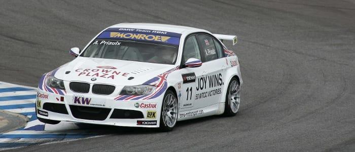 Team RBM's Andy Priaulx - Photo Credit: BMW AG