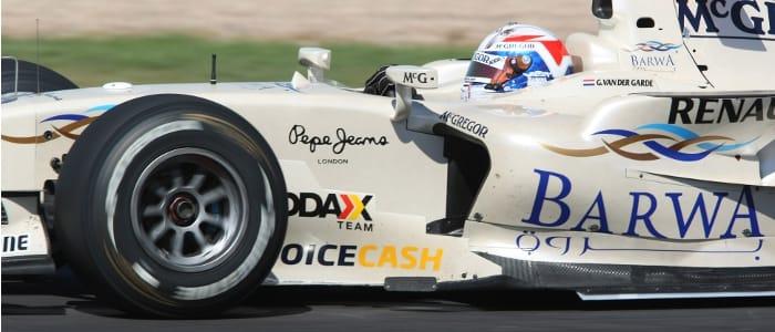 Guido van der Garde - Photo Credit: Bridgestone Motorsport