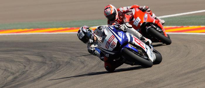 Jorge Lorenzo at Indianapolis - Photo Credit: Bridgestone Motorsport