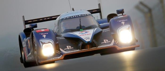 Peugeot 908 HDI FAP at Le Mans - Photo Credit: Peugeot Sport