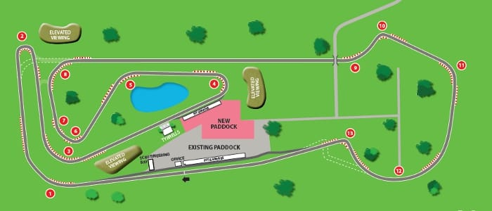 The new Snetterton 300 layout