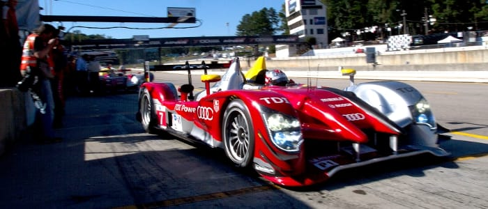 No.7 in the pitlane - Photo Credit: Audi Motorsport