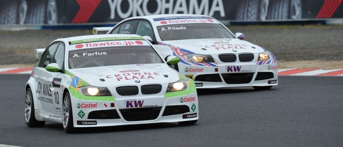 BMW teammates Farfus and Priaulx on track - Photo Credit: fiawtcc.com