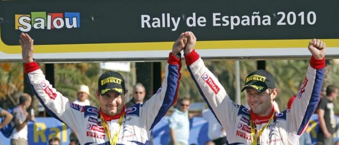 Loeb and co-driver Daniel Elena - Photo Credit: Citroen Racing