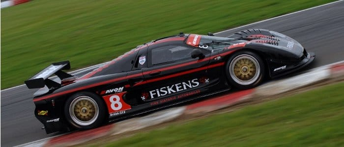 Rollcentre's GT3 Mosler at Snetterton earlier this year - Photo Credit: Chris Gurton Photography