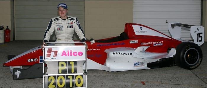 Alice Powell - another Hillspeed champion - Photo Credit: Jakob Ebrey Photography