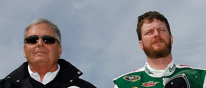 Rick Hendrick with Dale Earnhardt Jr. - Photo Credit: Jason Smith/Getty Images for NASCAR