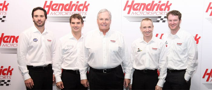 Johnson Gordon Hendrick Martin Earnhardt Jr - Photo Credit: NASCAR