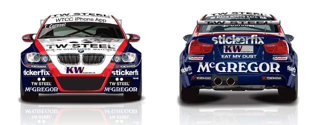 Tom Coronel's 2011 BMW livery