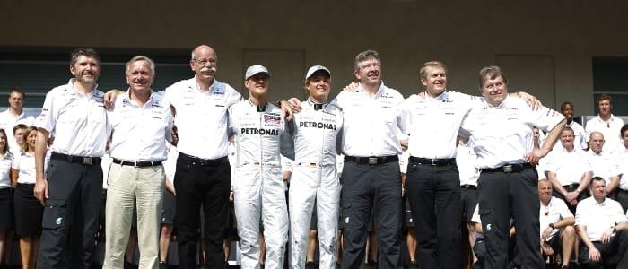 Photo Credit: Mercedes GP